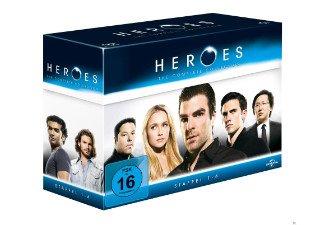 Heroes - Gesamtbox Blu-ray (Staffel 1-4) für 24,99€ @mediamarkt.de