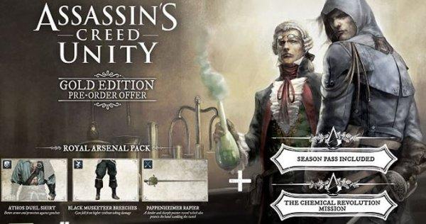 [PC] Assasins Creed Gold Edition - Origin Mexico / ca 48,50€ statt 79,95€