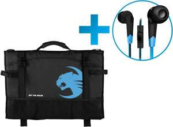 ROCCAT Tusko Tasche inkl. Syva In-Ear Headset gratis - statt 73,58 € für 44,99 - Ersparnis 40% durch Gutschein