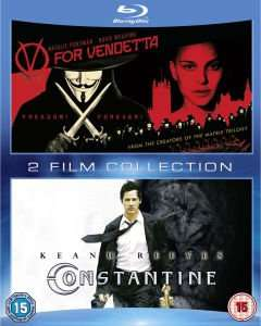 V wie Vendetta + Constantine 2-Movie Collection (Blu-Ray) für 8,95€ @Zavvi.com