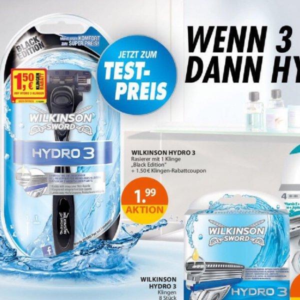 Wilkinson Hydro 3 (Drogerie Müller)
