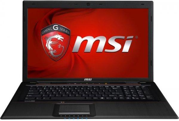 """MSI GP70-2PEi581FD (i5-4210H - 2x 2,9GHz, 17,3"""" FHD matt, GeForce 840M - 2GB, 8GB RAM, 1TB HDD, 2,7kg) - 679€ @ Cyberport"""