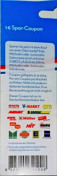 [Offline - Budnikowsky / Coupon] Odol-med3 & Dr.Best Milchzahn 1,14 € (Angebot - 1€ Coupon)