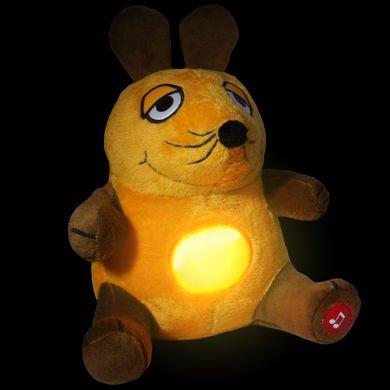Nachtlicht Sendung mit der Maus, Kuschelmaus mit Beleuchtung Schlummerlicht [ebay]
