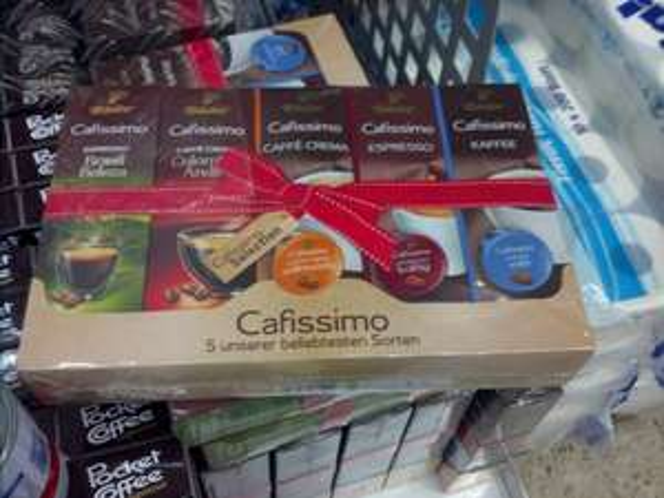 (lokal?) REWE Mannheim Tchibo Cafissimo Selection 50 Kapseln für 9,95€ = 19,9 Cent/ Kapsel - auch Cafe Crema/Espresso!