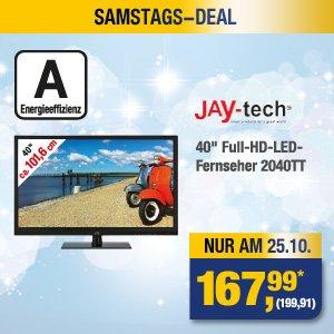 """NUR AM 25.10. // [METRO] // 40"""" Full-HD & LED-TV // 199.99€ brutto"""