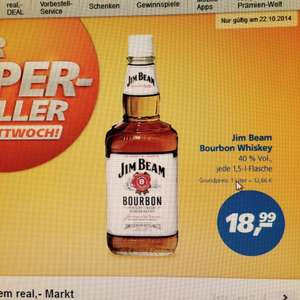 Jim Beam Whiskey 1,5l 40% [REAL]