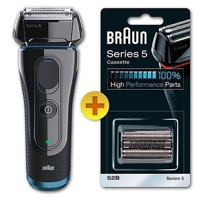 Braun Series 5 5040s Rasierer (wet&dry) + GRATIS Ersatzscherkopf 52B