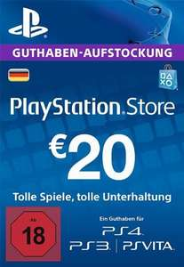PSN Playstation Network Card Key 20€