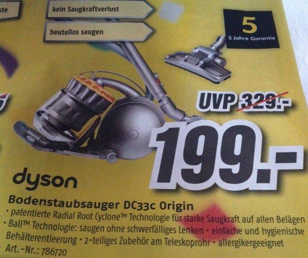 [lokal MediMax Berlin Ringcenter] dyson DC33c Origin Bodenstaubsauger 199€