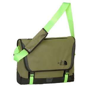 [planet-sports] THE NORTH FACE Messenger M Bag burnt olive green/safety green 32,85 statt 99,95