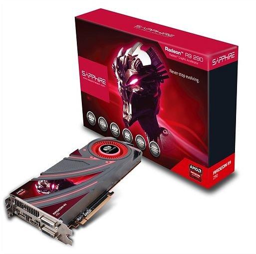 Sapphire Radeon R9 290 mit 4 GB [21227-00-40G] für 270 Euro