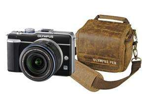 Olympus E-PL1 + M.Zuiko Digital 14-42mm-Objektiv + Tasche für 279€ (267,28€ mit Qipu)