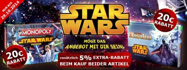 [Brettspiel] Star Wars Monopoly, Star Wars Risiko