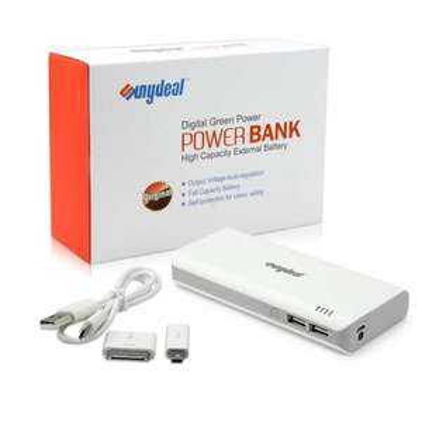 Mobile Power Bank extern Zusatz Akku 15000mAh für EUR 16,99