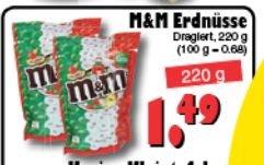 """[OFFLINE)M&M´s Erdnüsse Special Edition """"Italien"""" 220 Gramm für 1,49 in allen JAWOLL Fillialen"""