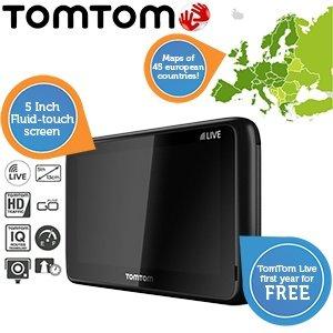 TomTom Go Live-Europa 1005 mit Armaturenbretthalterung und 1 Jahr kostenloses Free Live (Refurbished) / 135,90€ inkl. Versand / Idealo ab 186,80€
