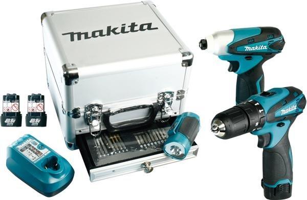 Makita Akku-Combo-Kit 10,8 V LCT303X2