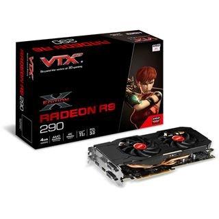 VTX3D Radeon R9 290 X-Edition V2 Aktiv PCIe 3.0 x16 4096MB mit 3 Spielen @Mindfactory - effektiv ca. EUR 190,-, viele weitere Radeon 290er zum ähnlichen Preis.