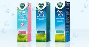 Wick Vapo Spray gratis Testen, Geld zurück erhalten