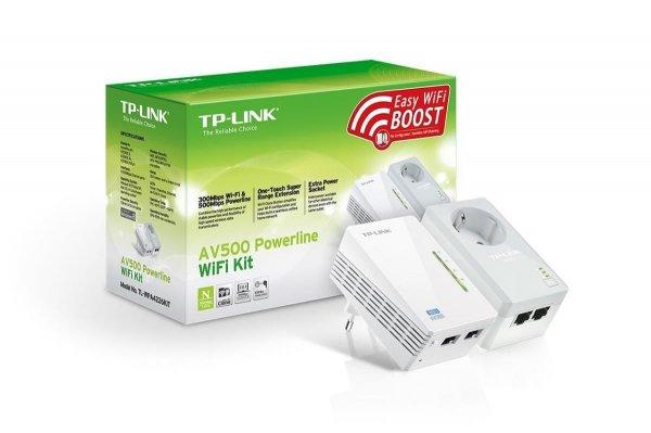 TP-LINK WiFi N Powerline AV500 Extender Passthrough Adapter Starter Kit @eBay