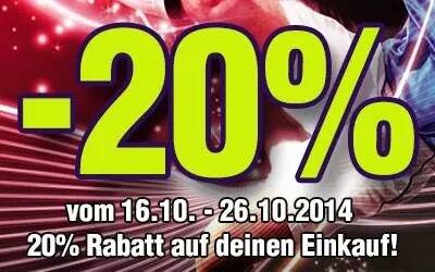 fanandmore.de 20% auf alles/sogar auf sale