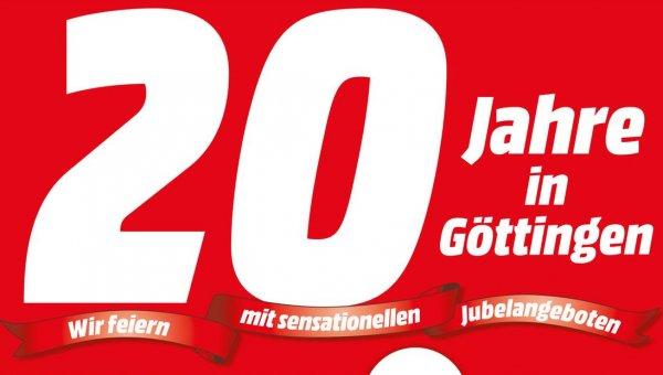 [Lokal-Sammeldeal] Göttingen - 20 Jahre MediaMarkt - z.B. Bose Soundlink Mini 129€ / XBox 360 Controller 29€ / Krups 1108 29€ / WD Elements 500GB 35€ und einiges mehr :)