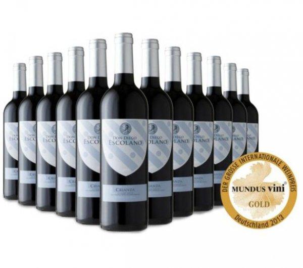 12 Flaschen prämierter Rotwein bei Plus.de für 59,95€ statt 99,95€