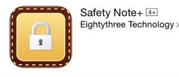 [iOS] Safety Note+ ( Anstatt 1.79€, heute Gratis)