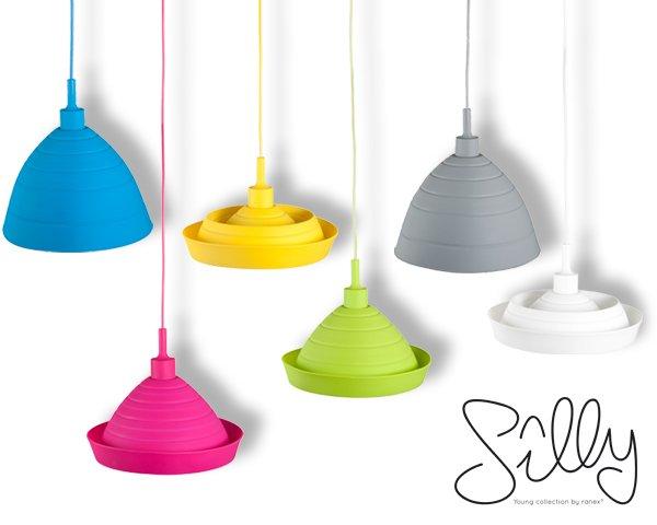 Farbige Formbare Silikon Silly Lampe für 22,90 € (23% Rabatt) @ 1DayFly.de