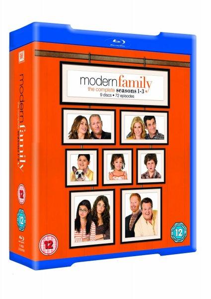 [Amazon UK] Modern Family 1-3 [O-Ton] für 16€ incl. Versand