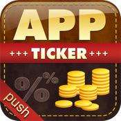 """iPhone/iPod touch App """"AppTicker Push"""" kostenlos im AppStore"""