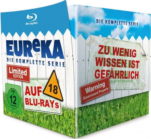 Eureka - Die komplette Serie auf Bluray für 39,79€