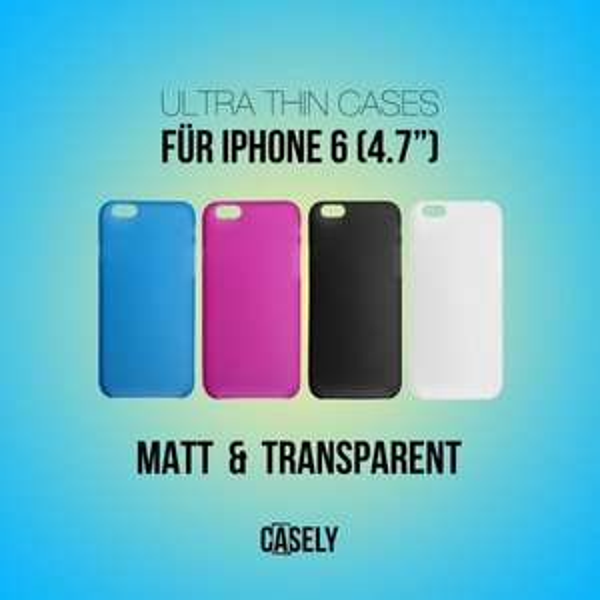 [eBay] 5,99 Euro - Apple iPhone 6 Schutzhülle / Case - Matte Oberfläche