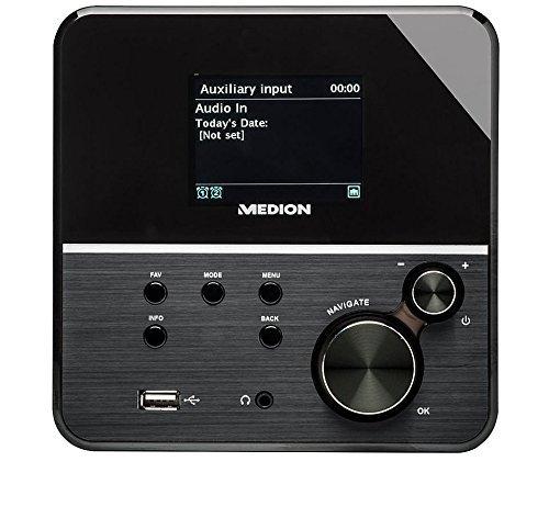 "MEDION LIFE P85040 (MD 86988) Wireless LAN Internet-Radio, (7,10 cm / 2,8""TFT Farbdisplay, DLNA, 2 x 5 W RMS, WLAN, LAN) schwarz @ Amazon als Blitzangebot"