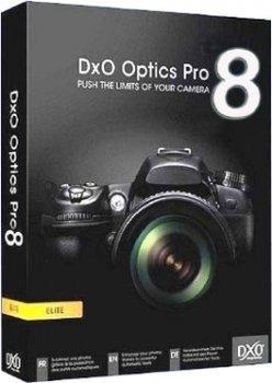DxO Optics Pro 8 Elite (Win/Mac)- Bildbearbeitungsprogramm Kostenlos