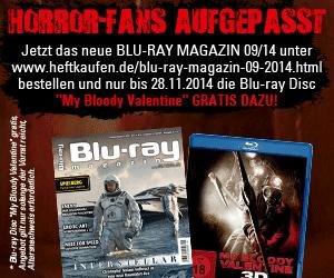 My Bloody Valentine 3D Blu-ray inkl. Blu-ray Magazin 09/2014 für 5,00 EUR