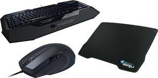 ROCCAT Produktbundle aus Maus, Tastatur, Mauspad »StarterSet SAVU, ISKU, SIRU« für 99 € (statt ca. 144 €) @ otto.de