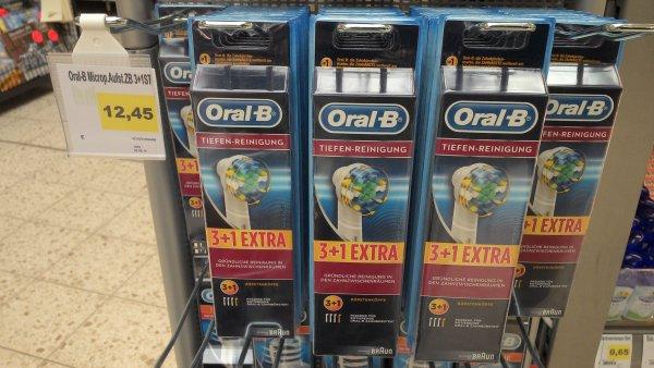 Oral-B Tiefenreinigungsbürsten 3+1