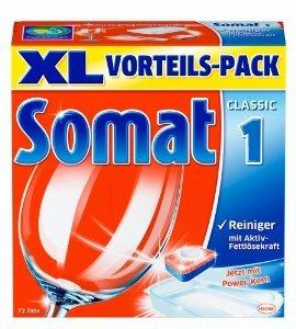 [KAUFLAND BUNDESWEIT] KW44: Somat Geschirrspül-Tabs 72 Stück für 4,99€ = 0,07€/Tab
