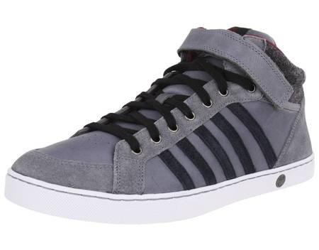 K-SWISS Adcourt 72 P SO MID Strap Leder Sneaker grau @ MeinPaket