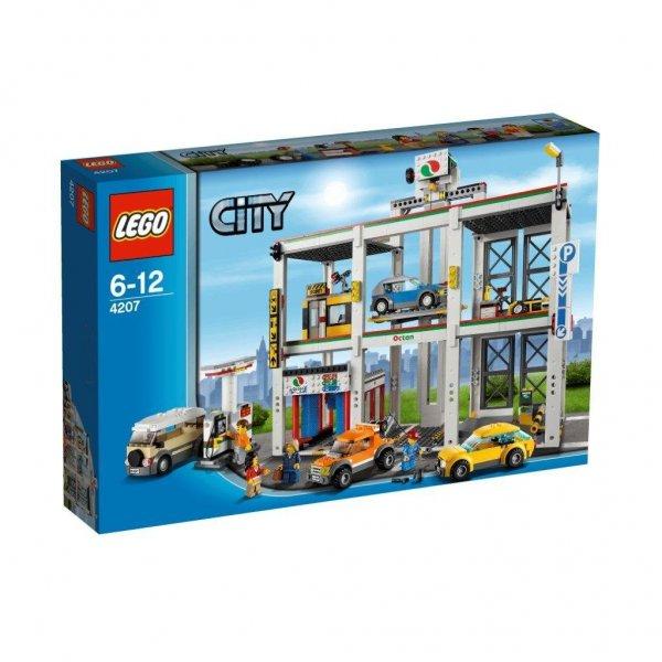 Otto u. a. : Set: LEGO City Große Werkstatt (4207) + Buch & Steine-Set für 69,99 + 5,95 Versand
