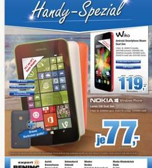 [Lokal - Norden] Nokia Lumia 530 DualSim - Expert Benning