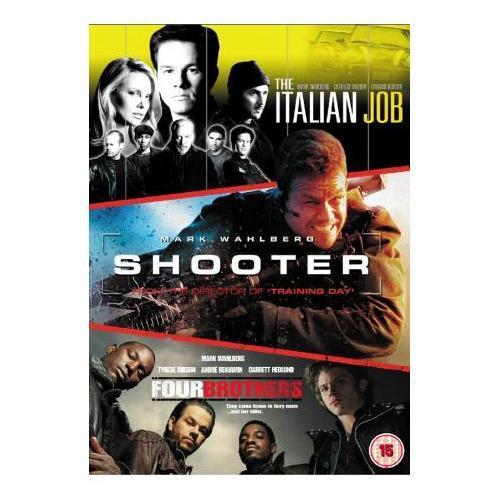 Mark Wahlberg Action Triple (The Italian Job/Shooter/Vier Brüder)DVD für 6,49€ inkl. Versand @play.com