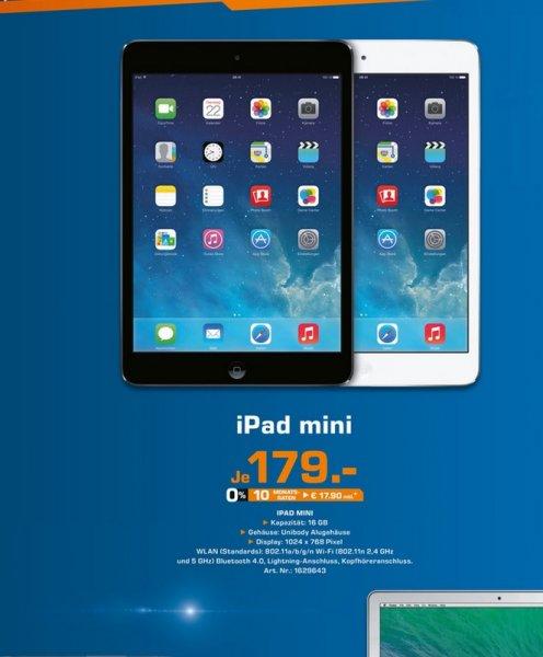 Apple iPad mini (kein Retina) 16GB WiFi für 179€, Toshiba Stor.e Plus 1TB für 45€ (LOKAL) @ Saturn Solingen