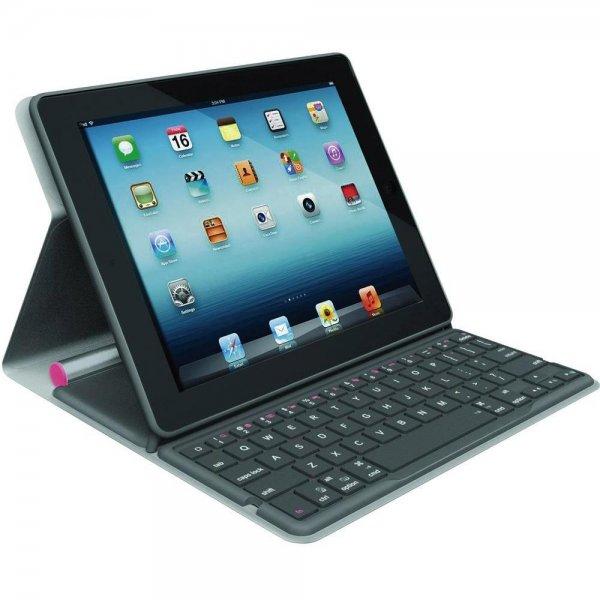 Logitech Solar Keyboard Folio (iPad 2,3,4) Pink für 19,85€ @Digitalo/Voelkner/Conrad