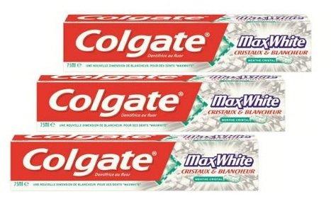 [MÜLLER BUNDESWEIT] KW44: 6x Colgate Max White / Sensation White / Max Fresh 75ml für 0,76€/Stück