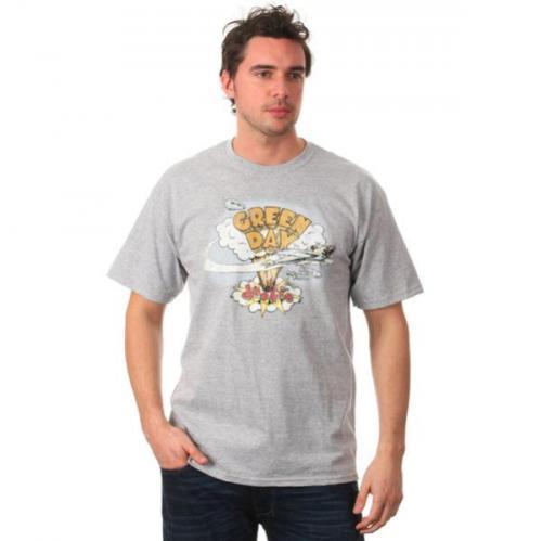Green Day Dookie T-shirt grau für ~ 3.41€ @thehut