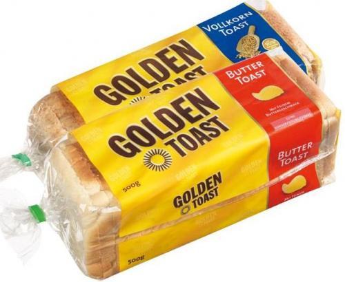 Golden Toast bei Lidl für 75 Cent