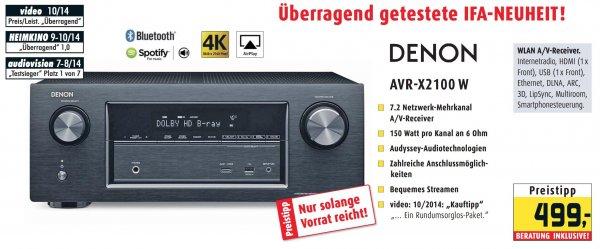 [Lokal/Rhein-Main] Denon AVR-X2100W für 499 € bei den Hifi-Profis